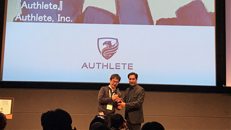 authlete won the grand prize at FIBC 2017